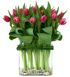 Wedding Flowers Tulips Bouquet Vase 45 Ideas For 2019 Deco Floral, Arte Floral, Beautiful Flower Arrangements, Beautiful Flowers, Artificial Floral Arrangements, Bloom, Tulpen Arrangements, Table Arrangements, Fleur Design