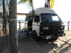 Westy on the beach - La Manzanilla