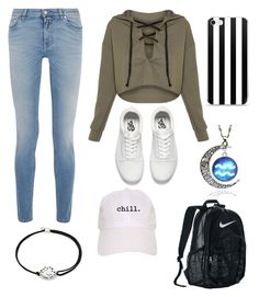 """Untitled #30"" by gabporto on Polyvore featuring Givenchy, Vans, NIKE and Alex and Ani"