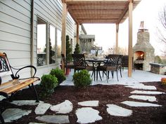 Outdoor Fireplaces and Fire Pits : Home Improvement : DIY Network  fireplace!