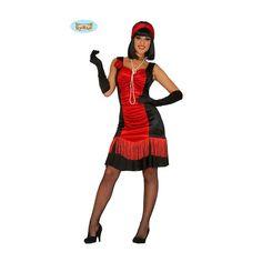 Ce déguisement de charleston rouge inclut la robe et le bandeau. Il est…