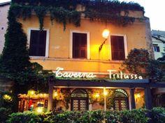 Rome, Italy Taverna Trilussa