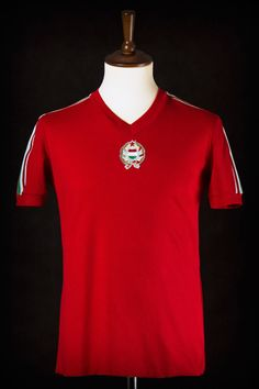1978 England vs. Hungary match worn by Péter Török (see our blog post for more details)
