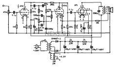 Single Ended EL84 HiFi (EF86 preamp) Tube amp