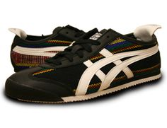 Bomb ass Asics Onitsuka Tiger Mexico 66 Zarape sneakers.