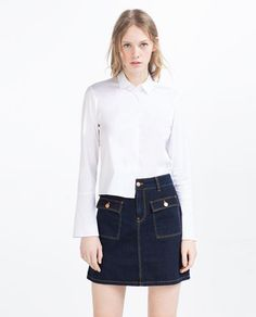 Image 2 of MINI SKIRT from Zara