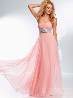 A-line Sweetheart Beaded Waistband Formal Dress/ Prom Dress Evening Dress Parai 95106