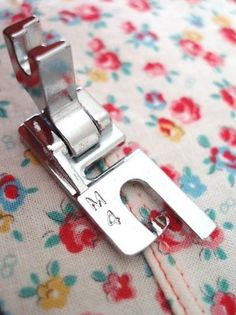 Lots of great sewing techniques with clear and detailed photos. Even when you've been sewing for a long time there are great reminders for what all those extra feet are for!