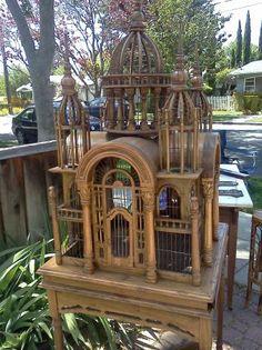 castle bird cage