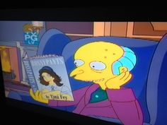Release the hounds!  Tina Fey on The Simpsons