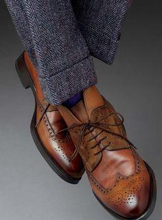 Brogue boots.