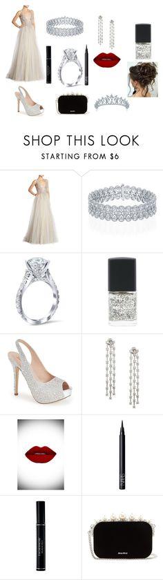 """Engagement Night"" by aakankshagarg on Polyvore featuring Berta, Lane Bryant, Lauren Lorraine, Suavecita, NARS Cosmetics, Christian Dior, Miu Miu and Bling Jewelry"