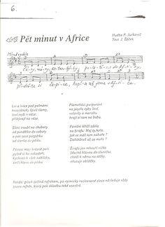 Výsledek obrázku pro pět minut v africe akordy