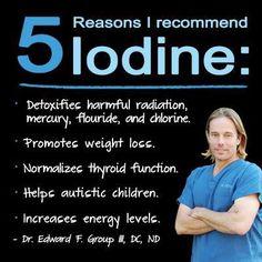 Iodine benefits