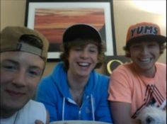 I was at that Twitcam today ♥♥♥ They are so adorable!!!!!