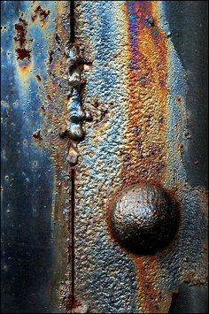 Rust with blue (Photo by Don Taylor)
