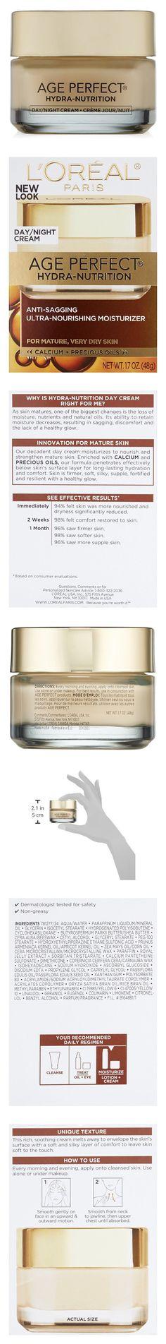 L'Oreal Paris Age Perfect Hydra-Nutrition Facial Day/Night Cream 1.7 FL OZ #beauty #lorealparis
