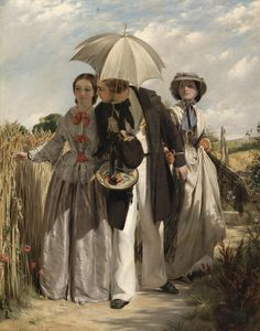 John Calcott Horsley (1817 - 1903) - Showing a preference, 1860
