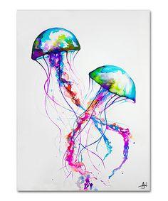 Look at this #zulilyfind! Marc Allante Narasumas Gallery-Wrapped Canvas #zulilyfinds