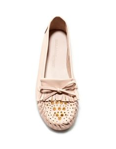 SOFT STUDDED MOCCASIN - Shoes - Woman - ZARA Philippines