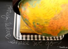 What can't you CHALKBOARD paint..Here is some ideas for using Chalkboard paint on refurbishing items..