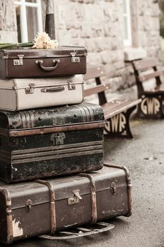 Travel style fashion luggage