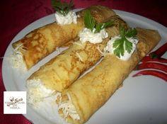 Receptek, és hasznos cikkek oldala: Burgonyás palacsinta Hungarian Desserts, Hungarian Recipes, Thing 1, Pavlova, Winter Food, Food Items, Kenya, Hot Dogs, Cake Recipes