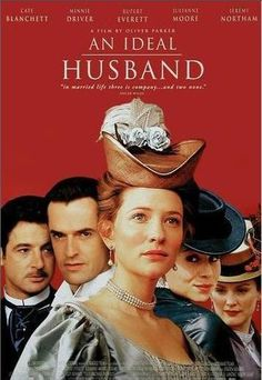 An Ideal Husband Movie Poster. The ever delightful Oscar Wilde.