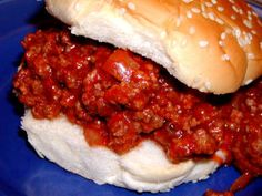 Hot and Spicy Sloppy Joes