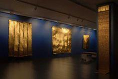 Olga de Amaral recreates the inner world of the universe at Nohra Haime Gallery