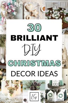 Are you looking to save some money this Christmas? If so, I have put together 30 of the best DIY Christmas decoration ideas to help you out. DIY Christmas | Christmas | Christmas decorations | DIY Christmas decorations | DIY decorations | Christmas decor | Christmas inspiration | Save money at Christmas | Xmas | Xmas decorations | Mason jar Christmas Mason Jars, Christmas Christmas, Christmas Ideas, Christmas Wreaths, Christmas Ornaments, Holiday Crafts, Holiday Fun, Holiday Ideas, Fun Crafts