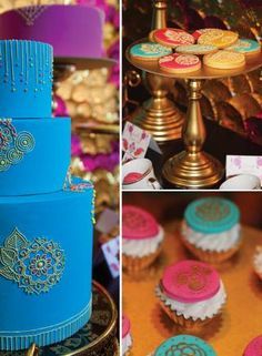 How amazing is this indian inspired high tea from Red Wagon Events featured in My Little Jedi Online Magazine {Issue 4} ?