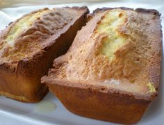 Lemon tea loaves