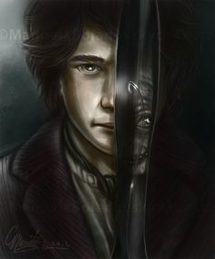 My name is Bilbo Baggins by ~NeridaNixie on deviantART