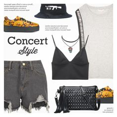 """Concert Style"" by novalikarida ❤ liked on Polyvore featuring sass & bide, T By Alexander Wang and Kenzo"
