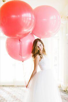 spring wedding photo shoot idea