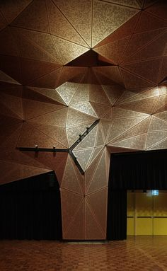 UTS Great Hall / DRAW via @ArchDaily