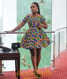 Simple Ankara Short Gowns Styles: for African Ladies.Simple Ankara Short Gowns Styles: for African Ladies African Fashion Ankara, Latest African Fashion Dresses, African Dresses For Women, African Print Dresses, African Print Fashion, African Attire, Africa Fashion, African Prints, African Style