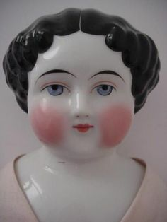"21"" Antique China Head Doll Beautiful Doll Free Shipping 