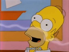 New party member! Tags: season 3 homer simpson food episode 3 wow yum tasty bbq 3x03 barbecue