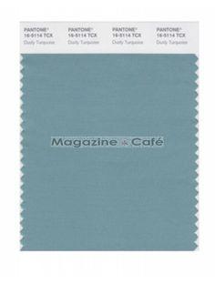 Pantone Smart 16-5114 TCX Color Swatch Card, Dusty Turquoise - Pantone