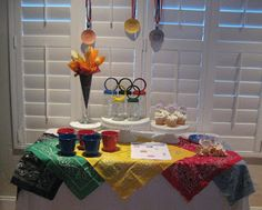 Creative Party Ideas by Cheryl: Olympic Opening Ceremony Party and Olympic T-Shirt Tutorial