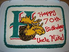 Halifax Mooseheads cake