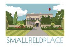 Smallfield Place  Surrey England