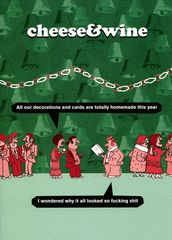 Rude Christmas card - Modern Toss - Homemade decorations and cards | Comedy Card Company | Funny Birthday Cards | Humorous Cards