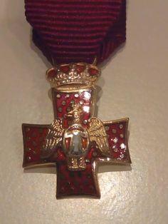 Mi Cruz de Caballero de la Orden del Águila de Georgia.