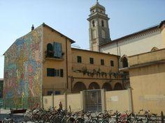 "Murale ""Tuttomondo"" Keith Haring, Pisa"
