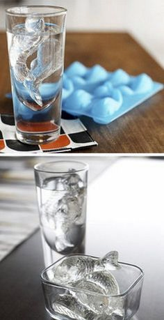 Cold Fish Ice Cube Tray For Tinkalicious Ice Cube Trays, Ice Tray, Ice Cubes, Ice Molds, Cool Inventions, Gadgets And Gizmos, Cool Things To Buy, Stuff To Buy, Cool Items