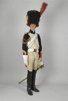 Le Régiment de Grenadiers à Cheval de la Garde Impériale  (The Regiment of Horse Grenadiers of the Imperial Guard). Uniform.
