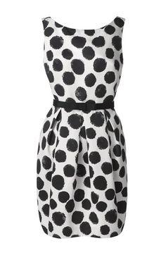Eliza J Dot Print Tulip Sheath Dress (Regular & Petite) | Nordstrom